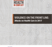 Cover of Violence on the Front Lines