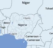 Map of Nigeria